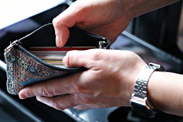 peněženka karty