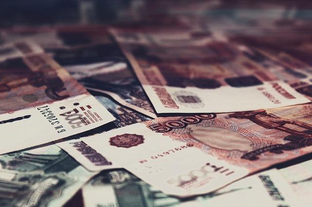 ruské peníze