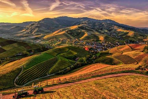 příroda vesnic